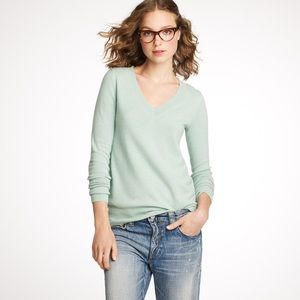 LOW PRICE!✨ J. Crew Cashmere V-Neck Sweater, green